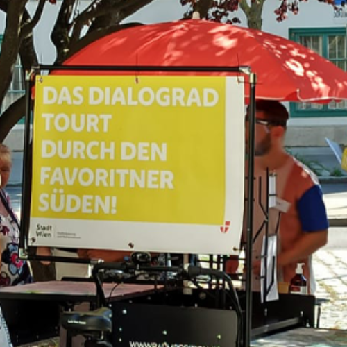 Dialograd-Tour im Südraum Favoriten